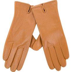 Rękawiczki Damskie WITTCHEN - 45-6-520-LB Brązowy. Brązowe rękawiczki damskie Wittchen, ze skóry. Za 229,00 zł.
