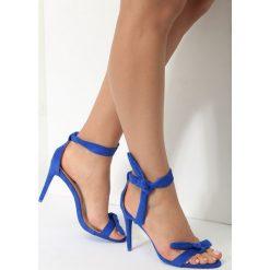 Kobaltowe Sandały Turquoise. Niebieskie sandały damskie vices, na wysokim obcasie. Za 69,99 zł.