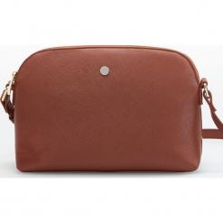 Mała torebka cross body - Pomarańczo. Brązowe torebki klasyczne damskie Reserved, małe. Za 59,99 zł.