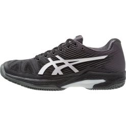 ASICS SOLUTION SPEED FF CLAY Obuwie do tenisa Outdoor black/silver. Czarne buty do tenisa męskie Asics, z gumy. Za 629,00 zł.