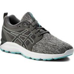 Buty ASICS - Gel-Torrance T7J8N Carbon/Carbon/Aruba Blue 9797. Czarne buty do biegania damskie marki Asics. W wyprzedaży za 199,00 zł.