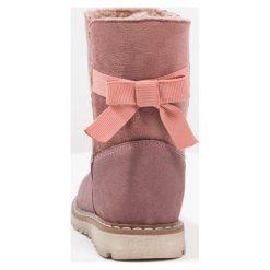 Friboo Botki pink. Czerwone botki damskie skórzane marki Friboo. W wyprzedaży za 146,30 zł.