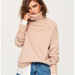 Bluza z golfem - Różowy. Czerwone bluzy damskie Reserved, l. Za 119,99 zł.