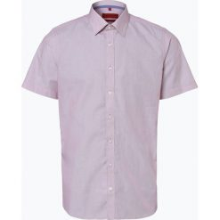 Finshley & Harding - Koszula męska łatwa w prasowaniu, czerwony. Czarne koszule męskie non-iron marki Finshley & Harding, w kratkę. Za 49,95 zł.