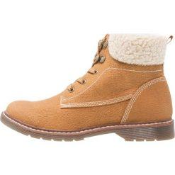 S.Oliver RED LABEL Botki sznurowane muscat. Brązowe buty zimowe damskie marki s.Oliver RED LABEL, z materiału, na sznurówki. W wyprzedaży za 125,95 zł.