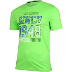Puma Koszulka męska Fun Summer Logo Tee  zielona r. S (836592 20). Zielone t-shirty męskie Puma, m. Za 70,58 zł.
