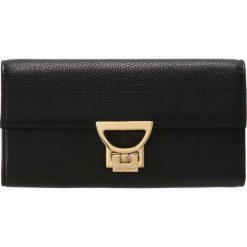 Coccinelle ARLETTIS WALLET Portfel noir. Czarne portfele damskie marki Coccinelle. Za 649,00 zł.