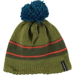 """Czapki męskie: Dzianinowa czapka """"ReckonWith"""" w kolorze zielono-turkusowym"""