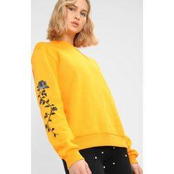 Bluzy damskie: NAKD ROSE SLEEVE EMBROIDERY SWEATER Bluza orange