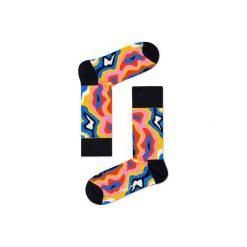 Skarpetki Happy Socks  MRI01-2000. Szare skarpetki męskie Happy Socks, z bawełny. Za 24,43 zł.