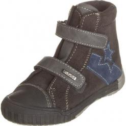 Sneakersy w kolorze antracytowym. Szare trampki chłopięce Zimowe obuwie dla dzieci, z materiału. W wyprzedaży za 117,95 zł.