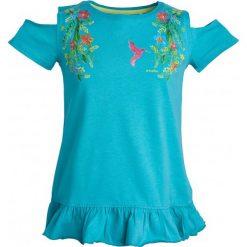 Sukienki dziewczęce: Tunika z falbanką dla dziewczynki 9-13 lat