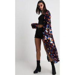 Jaded London MAXI KIMONO RAINBOW SEQUIN Kurtka wiosenna multi. Czarne kurtki damskie marki Jaded London, m, z materiału. W wyprzedaży za 398,30 zł.