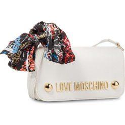 Torebka LOVE MOSCHINO - JC4126PP16LV0100  Bianco. Białe listonoszki damskie Love Moschino, ze skóry ekologicznej. Za 659,00 zł.