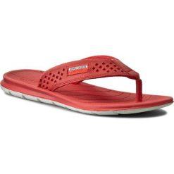 Japonki ECCO - Intrinsic Toffel 88000301255 Coral Blush. Czerwone japonki damskie marki ecco, w paski, ze skóry, na niskim obcasie. W wyprzedaży za 209,00 zł.