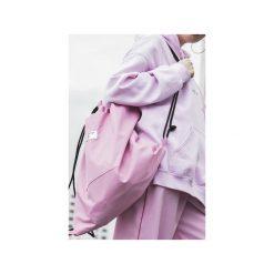Plecaki męskie: plecak worek różowy