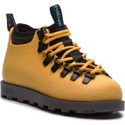Trapery NATIVE - Fitzsimmons Citylite 31106800-7539 Alpine Yellow/Onyx Black. Żółte buty zimowe damskie Native, z materiału. Za 429,00 zł.