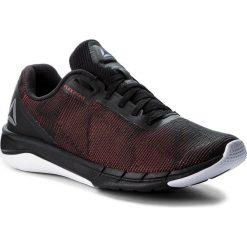 Buty Reebok - Fast Flexweave CN5098 Black/Primal Red/Shrk/Wht. Szare buty do biegania męskie marki Reebok, l, z dzianiny, z okrągłym kołnierzem. W wyprzedaży za 279,00 zł.
