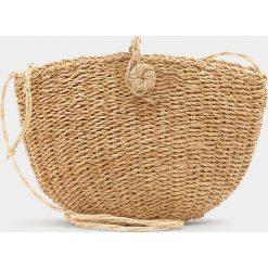 Torebki klasyczne damskie: Mały koszyk na ramię