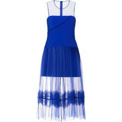 Three Floor ONDINE Długa sukienka blue. Niebieskie długie sukienki Three Floor, z elastanu, wizytowe, z długim rękawem. Za 999,00 zł.