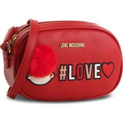 Torebka LOVE MOSCHINO - JC4069PP16LK0500  Rosso. Czerwone listonoszki damskie Love Moschino, ze skóry ekologicznej. W wyprzedaży za 449,00 zł.