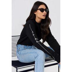 Bluzy rozpinane damskie: NA-KD Urban Bluza dresowa - Black