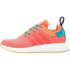 Adidas Originals NMD R2 SUMMER Tenisówki i Trampki trace orange/footwear white. Brązowe tenisówki damskie marki adidas Originals, z materiału. W wyprzedaży za 486,75 zł.