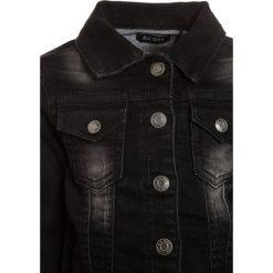 Blue Seven Kurtka jeansowa schwarz. Czarne kurtki chłopięce przeciwdeszczowe Blue Seven, z bawełny. Za 149,00 zł.