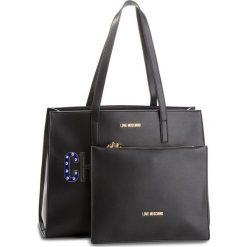 Torebka LOVE MOSCHINO - JC4268PP06KJ0000  Nero. Czarne torebki klasyczne damskie marki Love Moschino, ze skóry ekologicznej. W wyprzedaży za 729,00 zł.