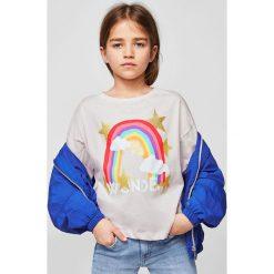 Bluzki dziewczęce: Mango Kids – Top dziecięcy Iris 110-164 cm