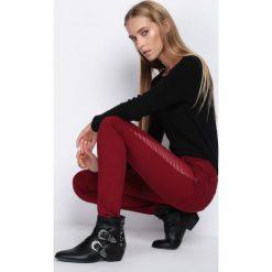 Spodnie damskie: Bordowe Spodnie Want Some More
