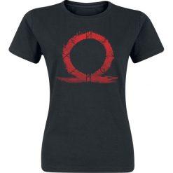 Bluzki asymetryczne: God Of War Serpent Logo Koszulka damska czarny