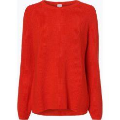 Swetry klasyczne damskie: BOSS Casual - Sweter damski – Wasandel, czerwony