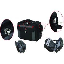 """Torba Phoenix Safe zabezpieczająca na laptopa 17"""" SC0084C. Czarne torby na laptopa marki Phoenix Safe. Za 751,18 zł."""