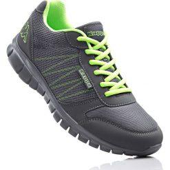 Buty sportowe Kappa bonprix antracytowy. Szare buty sportowe męskie bonprix, na sznurówki. Za 109,99 zł.
