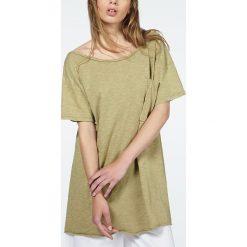 """T-shirty damskie: Koszulka """"Bysapick"""" w kolorze khaki"""