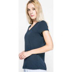 Lauren Ralph Lauren - Top piżamowy. Szare piżamy damskie Lauren Ralph Lauren, l, z bawełny. Za 199,90 zł.