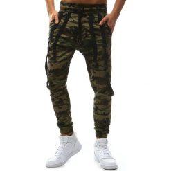 Joggery męskie: Spodnie męskie joggery woodland camo (ux1131)