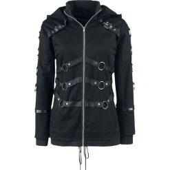 Chemical Black Vivien Jacket Kurtka damska czarny. Czarne kurtki damskie Chemical Black, l, w paski, z polaru. Za 446,90 zł.