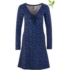 """Sukienki hiszpanki: Sukienka """"Mailo"""" w kolorze niebieskim"""