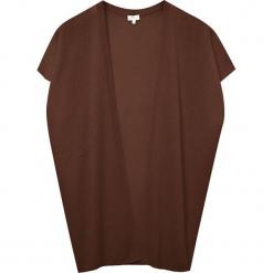 Kardigan kaszmirowy w kolorze brązowym. Brązowe kardigany damskie marki Ateliers de la Maille, m, z kaszmiru. W wyprzedaży za 409,95 zł.