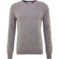 Pure cashmere Sweter grey. Szare swetry klasyczne męskie pure cashmere, l, z kaszmiru. Za 969,00 zł.