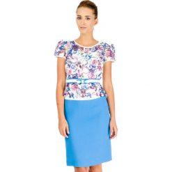 Odzież damska: Sukienka Stabo w kolorze biało-niebieskim