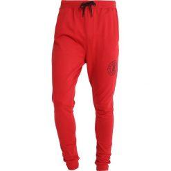 Spodnie dresowe męskie: Only & Sons ONSRFANA LOGO PANTS Spodnie treningowe pompeian red
