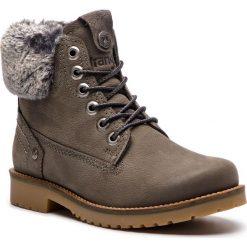 Trapery WRANGLER - Creek Alaska WL182502 Grey 55. Szare buty zimowe damskie Wrangler, z materiału. W wyprzedaży za 309,00 zł.