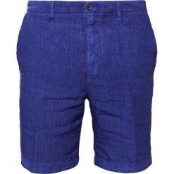 Bermudy męskie: 120% Lino Szorty crown blue