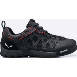 Salewa - Obuwie Ms Firetail 3 Gtx. Czarne buty trekkingowe męskie Salewa, z gore-texu, na sznurówki, outdoorowe, gore-tex. W wyprzedaży za 599,90 zł.