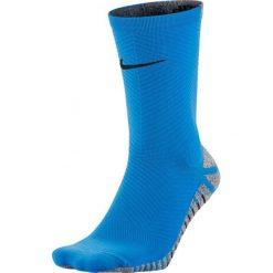 Skarpetogetry piłkarskie: Nike Skarpety piłkarskie Nike Grip Strike Light Crew kolor niebieski 44-45.5 (SX5486 406)