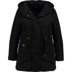 Płaszcze damskie pastelowe: Evans SOFT HOODED PADDED Płaszcz zimowy black