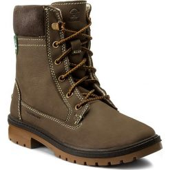 Trapery KAMIK - Rogue6 WK2401  Brown. Brązowe buty zimowe damskie Kamik, z materiału. W wyprzedaży za 309,00 zł.